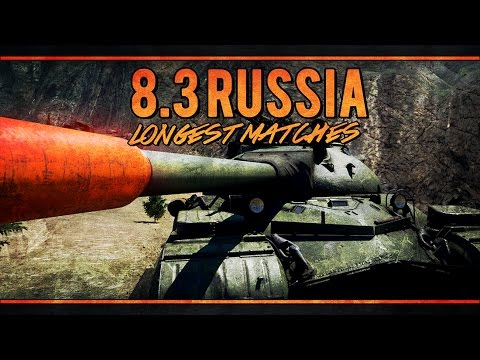 War Thunder's Longest Matches - 8.3 Russian Ground Forces