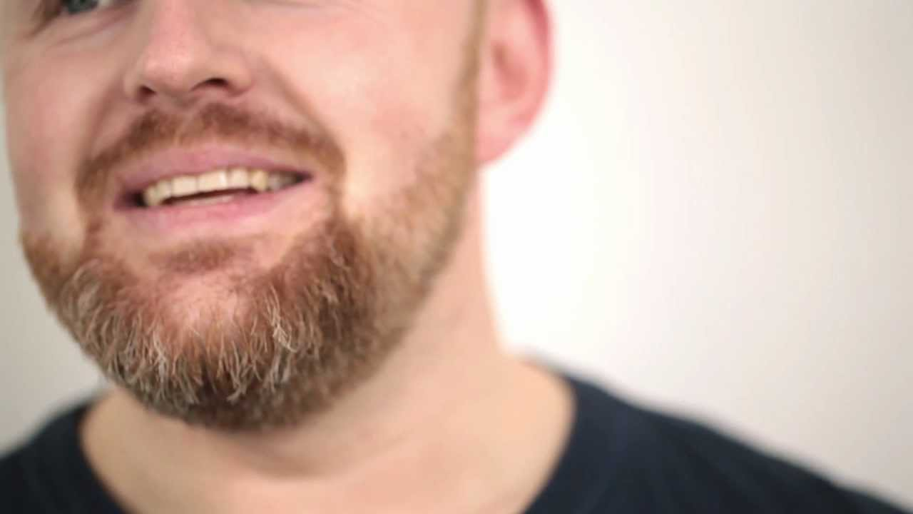 trimma skägg halsen