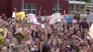 Governor Mifflin Lip Dub  Helping Hatlee ROAR