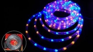 видео Уличные светодиодные гирлянды