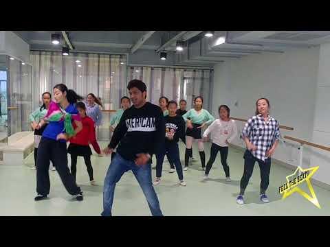 Oye Oye ~ Junior Dance Workshop ( level-1) in China Jan-2018