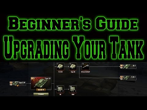 World Of Tanks // Beginner's Guide // Upgrading Your Tank