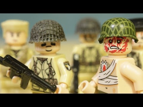 Epic Lego WW2 Stop Motion Normandy D Day Landing - Full Movie