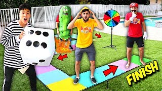 WORLD'S BIGGEST BOARD GAME IN REAL LIFE!! *Winner Gets $10,000*