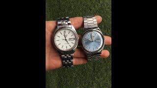 Kiên đồ cũ | (Đã Bán)Đồng hồ Seiko 5 automatic nhật cũ lộ máy mã 043 và A8 0936.050.424