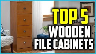 Best Wooden File Cabinets In 2018