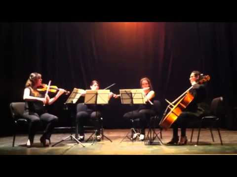 Franz Danzi- Quartet for flute, violin, viola, cello No.2,