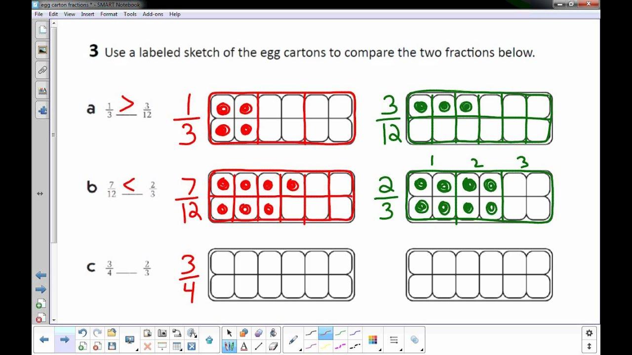 Egg Carton Fractions