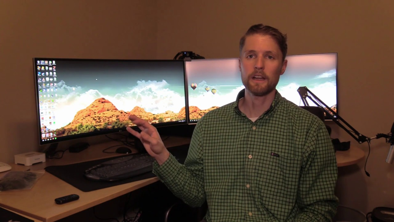LG 34UC88-B 34-inch Curved UltraWide Monitor - Unboxing and Review