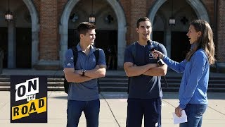 Notre Dame students tested on their knowledge of Notre Dame football I NBC Sports