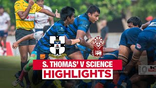 Match Highlights - S. Thomas' College v Science College 2019