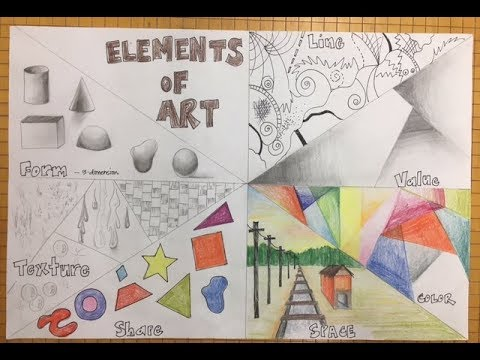 elements of art poster youtube
