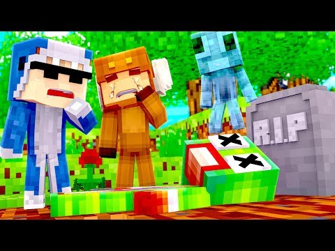 Minecraft Daycare - R.I.P UNSPEAKABLEGAMING! w/ MooseCraft (Minecraft Kids Roleplay) thumbnail