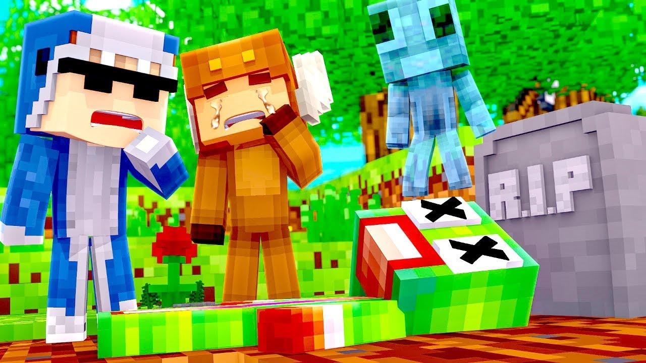 Minecraft Daycare - R.I.P UNSPEAKABLEGAMING! w/ MooseCraft (Minecraft Kids  Roleplay)