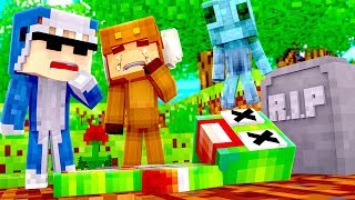 Minecraft Daycare - R.I.P UNSPEAKABLEGAMING! w/ MooseCraft (Minecraft Kids Roleplay)