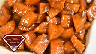 CANDIED YAMS Recipe- Good Ol' Down Home Cookin' |Soul Food Recipe |Holiday Series