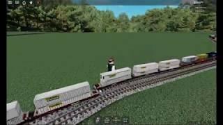 Déraillement de train Intermodel CSX (Roblox)