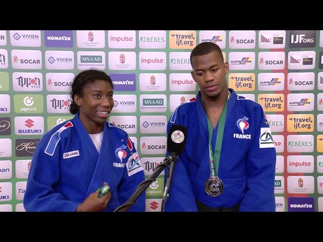 2021 #JudoWorlds Mixed Team - France