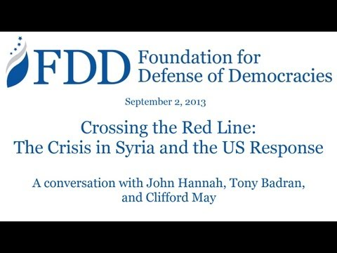 Crossing the Red Line: The Crisis in Syria and the US Response