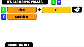 Урок французского языка = причастий прошедшего # IRE   Я № 1