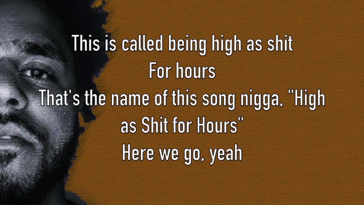 J Cole High For Hours Lyrics Youtube