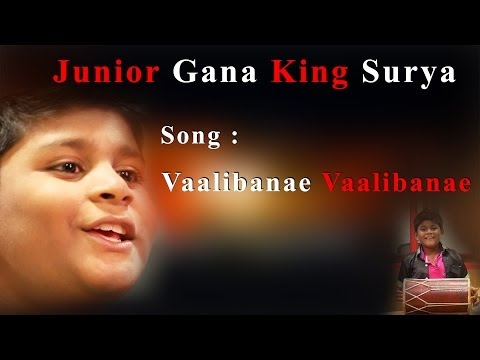 Junior King of  Chennai Gana Surya  - Valibane Valibane - Must watch Redpix 24X7