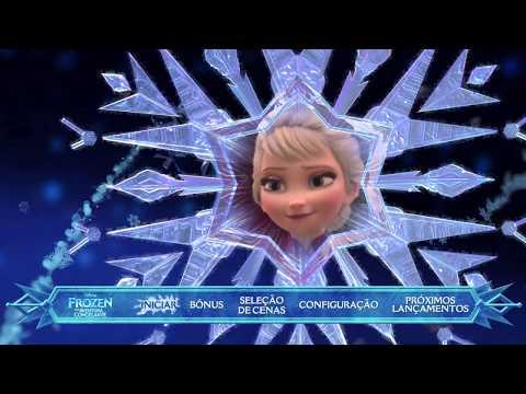 Frozen: Uma Aventura Congelante - Blu-Ray Menu