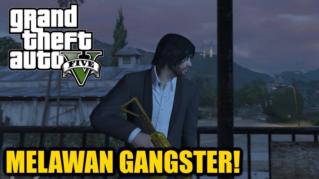 Cerita GTA V Indonesia - Melawan Para Gangster! #17