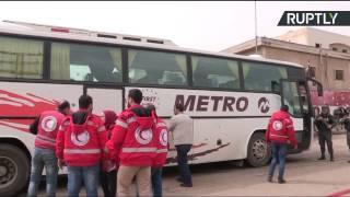 Вооруженная сирийская оппозиция покидает Хомс