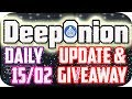 DeepOnion Update & SPECIAL VIP Guest & 50 $ Onions Giveaway!!!