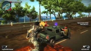 Just Cause 2 - ShadowPlay Test using Nvidia GT 750M