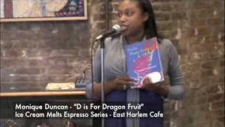"Ice Cream Melts Espresso Series Monique Duncan - ""D is For Dragon Fruit"" - East Harlem Cafe Thumbnail"