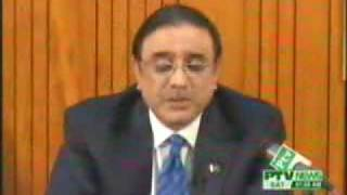 Naeemia Bombing - Zardari Speech - June 12, 2009