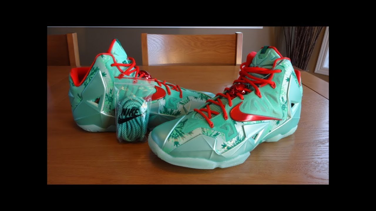 check out 4cc53 97050 Nike LeBron 11 Christmas - Detailed Reveiw