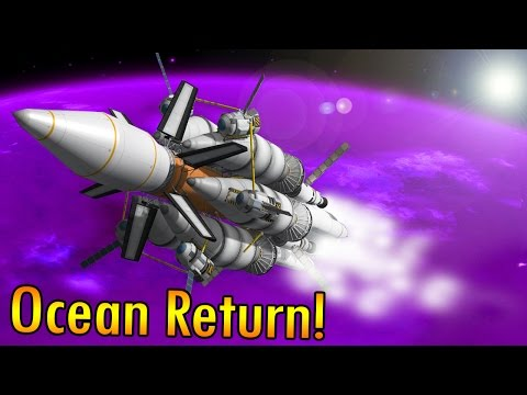 KSP: Landing in Eve's Ocean and Returning! (Expedition Eve p6)