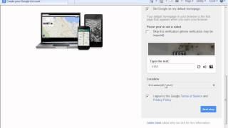 كيفية إنشاء g-mail account