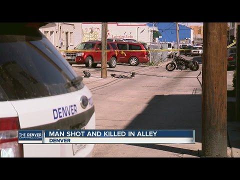 Biker shot and killed in west Denver alley