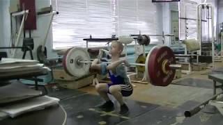 Отегов Степан, 12 лет, св 33 На грудь в сед  33 кг Есть личный рекорд взятия на грудь!