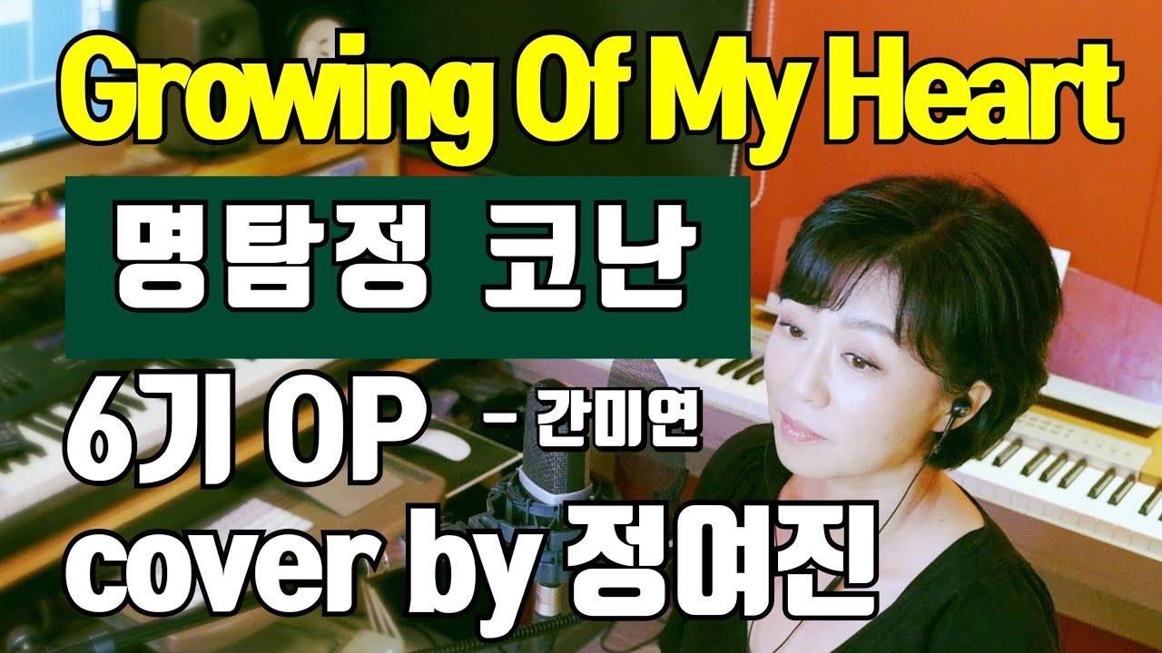Growing of my heart (명탐정 코난 6기 OP) - cover by 정여진