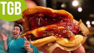 ¡FIESTA EN TGB! | Pruebo la nueva carta de The Good Burger junto a otros YouTubers | Beyond Burger