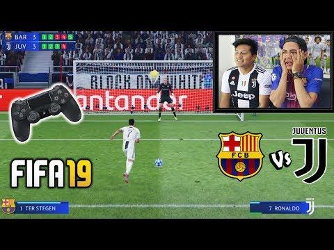 Reto ÉPICO!!!        Penaltis en FIFA19 con CASTIGO! (BARÇA vs JUVENTUS)
