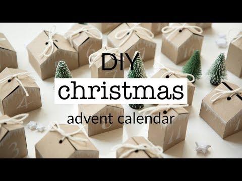 DIY Christmas advent calendar + free printable template