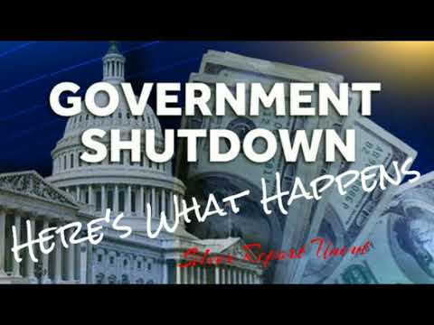 What Happens In A Government Shutdown! When The Money Stops Here's What Drops!