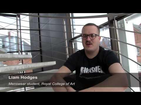 Student from London Royal College of Art at Kopenhagen Studio