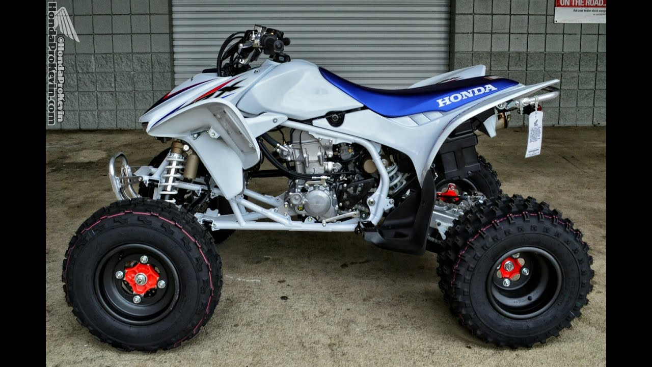 2014 Honda TRX450R Race / Sport ATV Quad Walk-Around Video ...