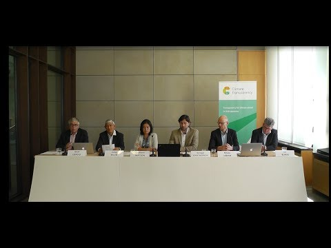 Climate Transparency: Online Launch Brown to Green Report 2017