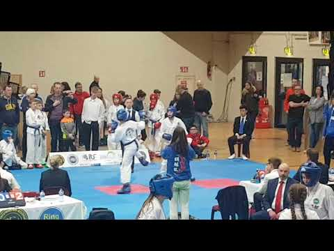 Farid at Dublin Open 2018 - Quarter-final of Sparing competition