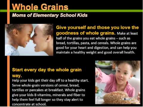 Core Nutrition Messages Series: Part 1