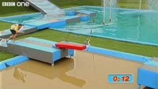 Celebrity Total Wipeout - Preview - Jeff Brazier Record Attempt - BBC One