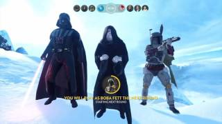 StarWars Battlefront (heroes vs villains) pt.1